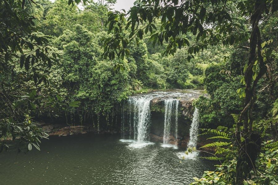 Pakse, Laos - Tad Champee Waterfall