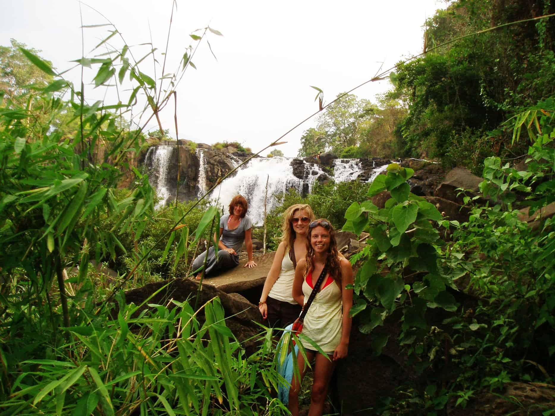 Waterfalls around Tadlo, the Bolaven Plateau.