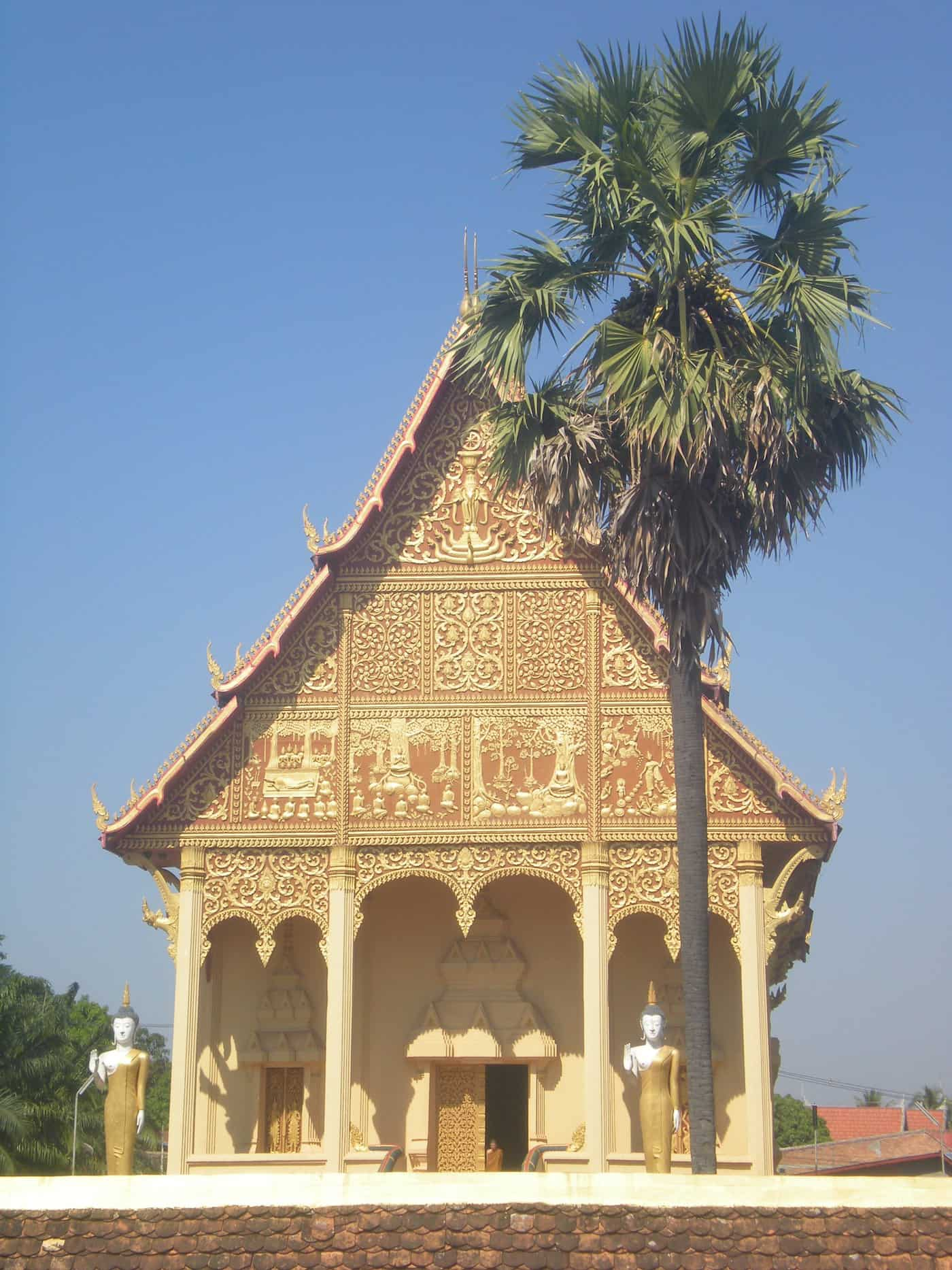 Wat Si Saket, Vientiane, Laos.