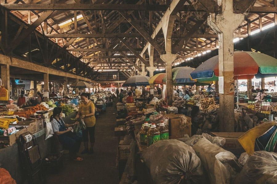 Luang Namtha Market, Laos