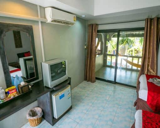Superior pool accommodation