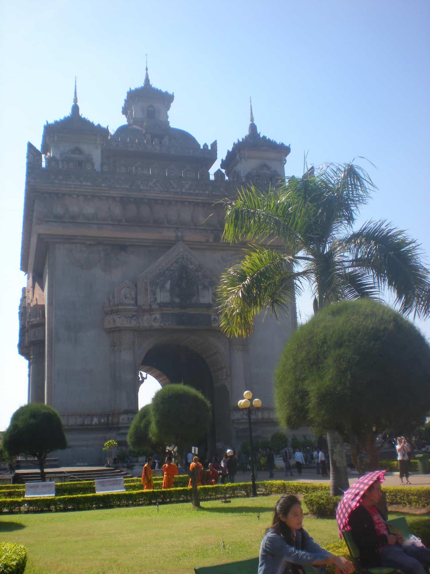 Arc de Triomphe, Vientiane, Laos.