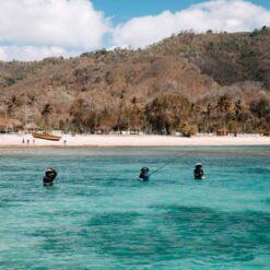 Fishing near the secret Gili islands