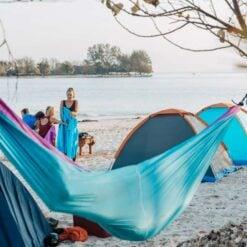 Camping on the secret Gili Islands of Lombok