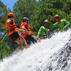 Small group canyoning in Dalat