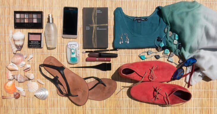 Items to pack for holiday