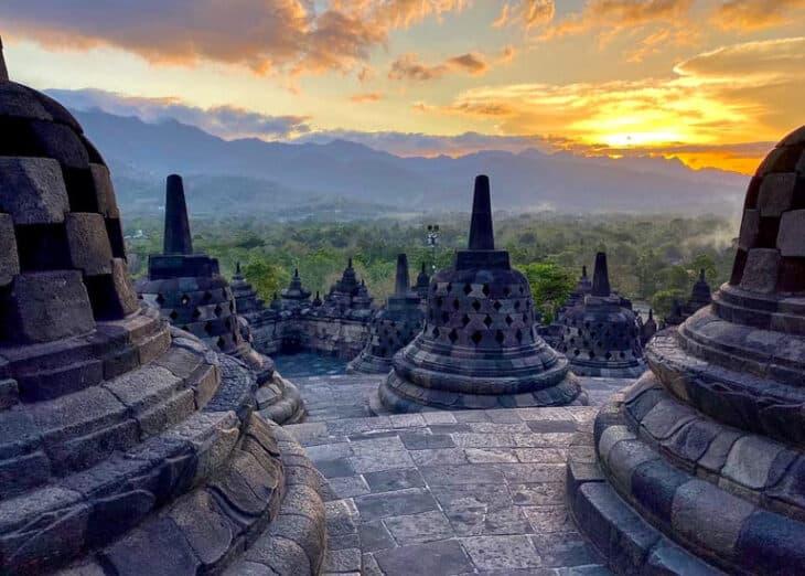 Borobudur Temple Yogyakarta, Indonesia