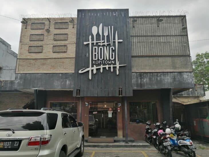 Bong Kopitown restaurant, Yogyakarta
