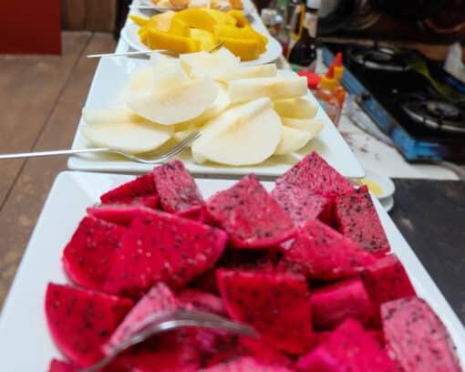Fruit provided at EVP