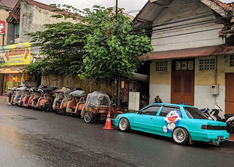 Yogyakarta streets. Photo credit: Urvesh Devani.