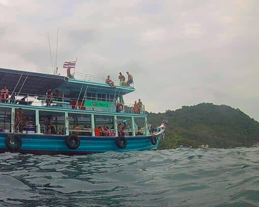 Oxygen snorkeling boat trip.