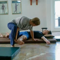 Practising Thai massage
