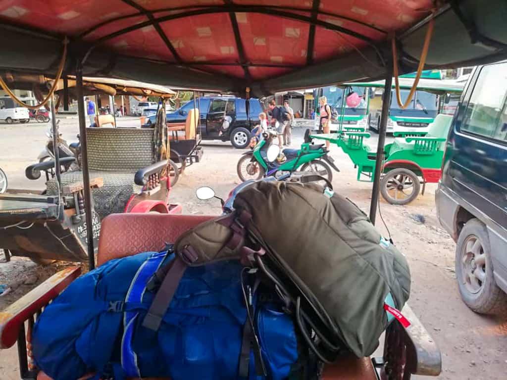 Osprey Backpack in Tuk Tuk