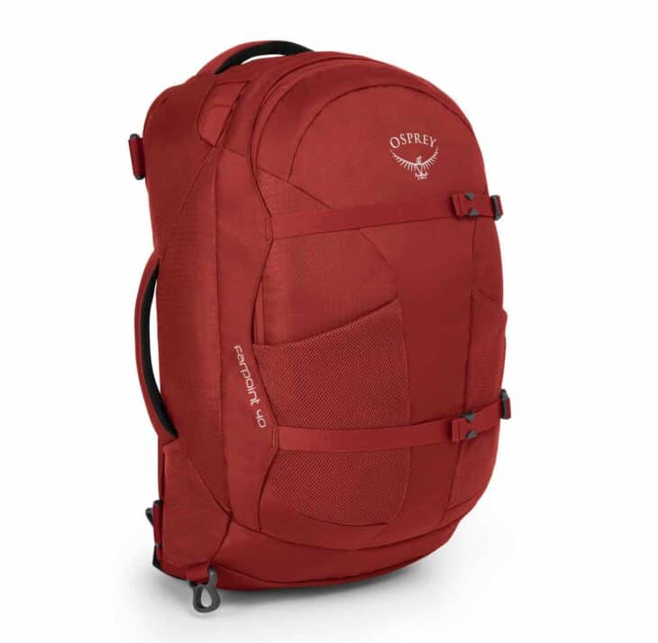 Osprey Farpoint 40-litre Red