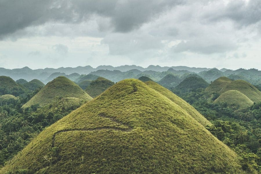 The Chocolate Hills, Bohol, The Philippines
