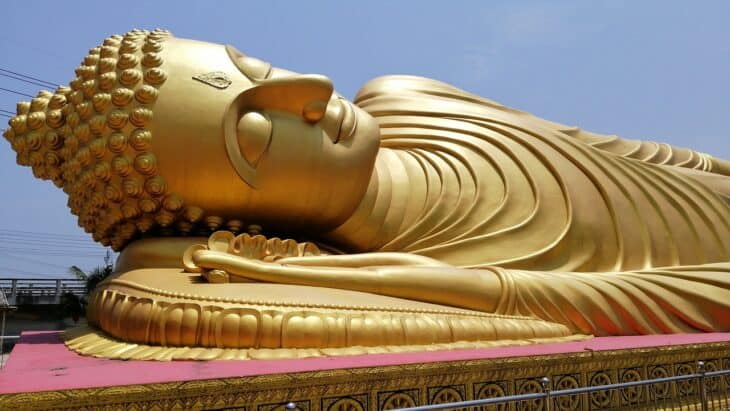 Reclining Buddha in Hat Yai.