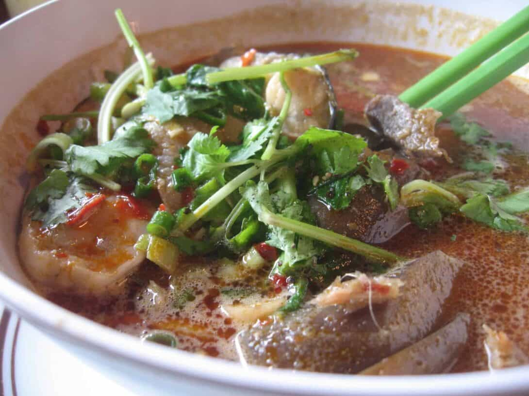 Bún mắm - Vietnamese street food