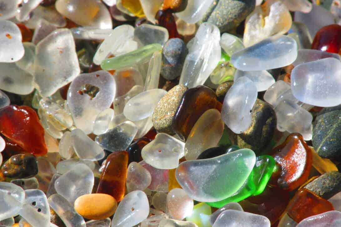 Sea glass.