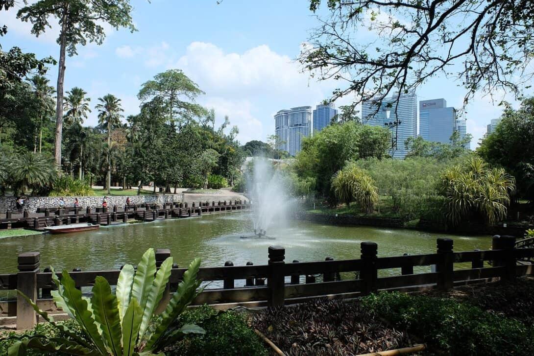 Botanical Gardens in Kuala Lumpur, Malaysia