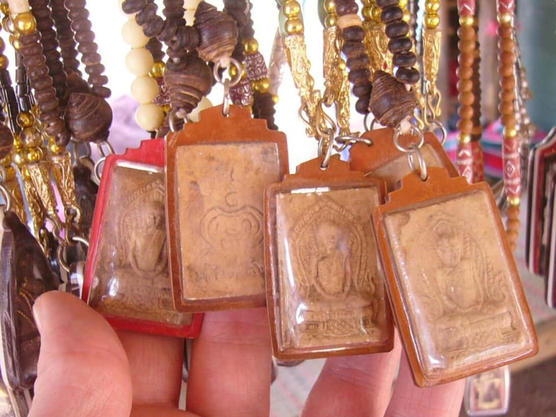 Thai Buddhist Amulets.
