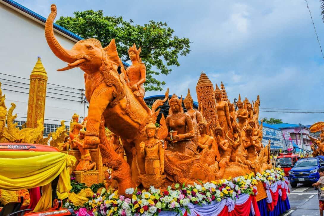 Ubon Ratchatani Candle Festival