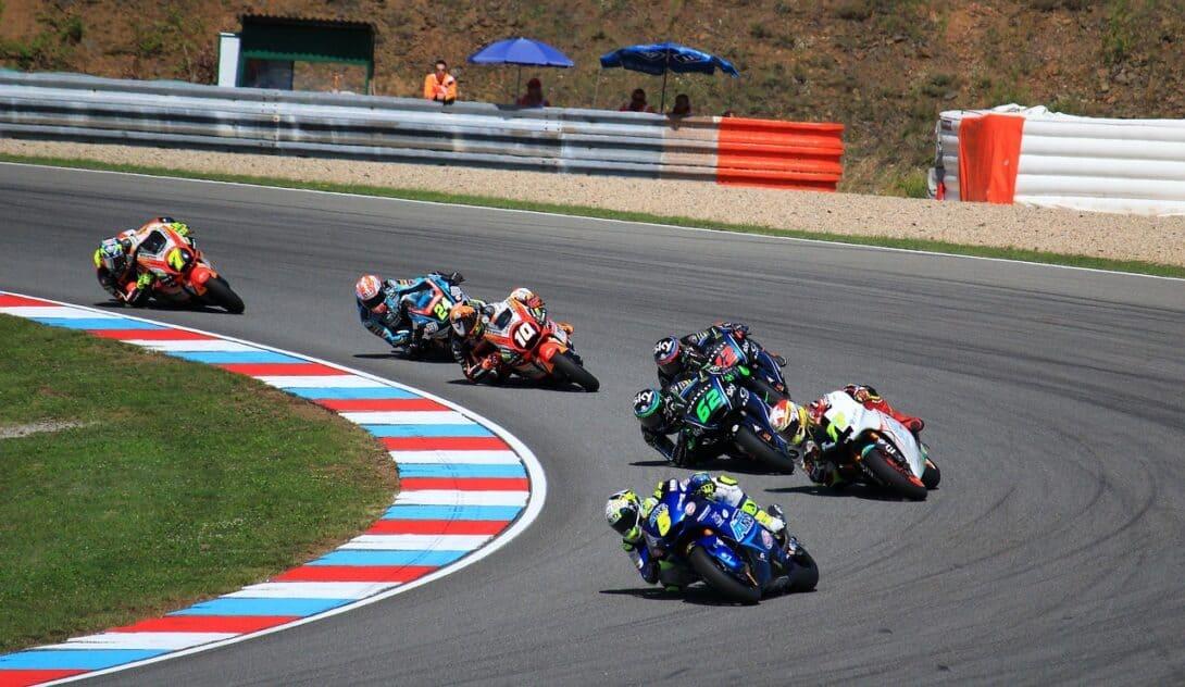 Moto GP riders