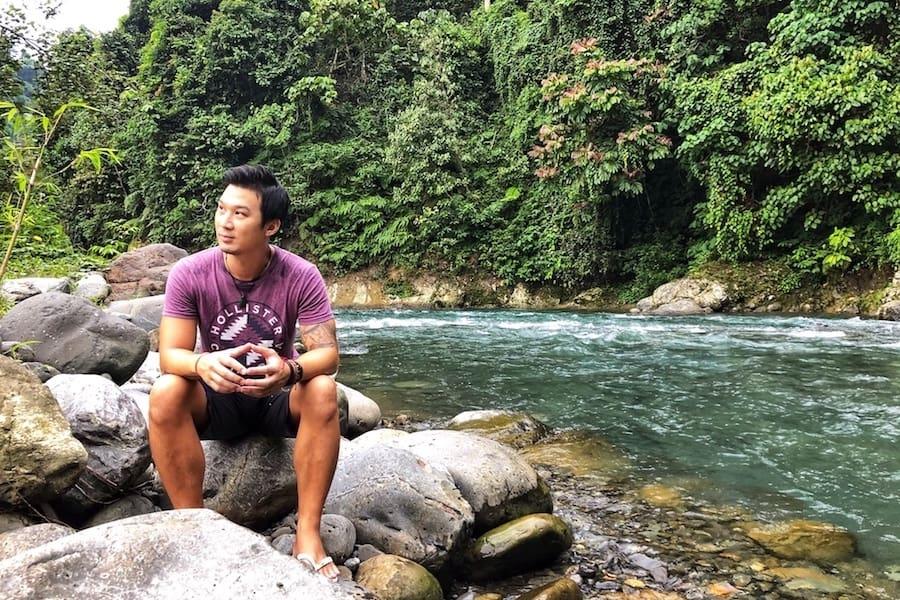 Bukit Lawang river.