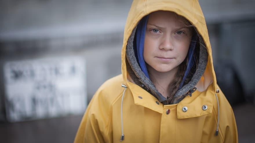 Greta Thunberg. Photo by Anders Hellberg.