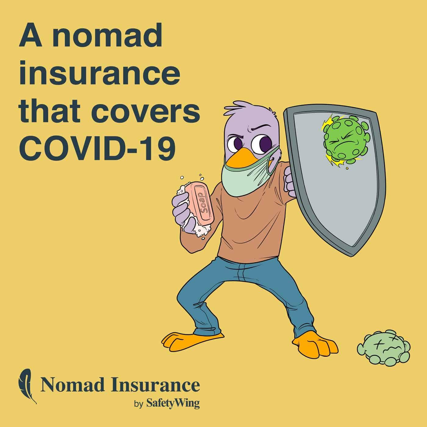 COVID-19 Travel Insurance.