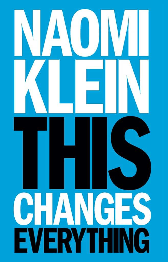 Naomi Klein This Changes Everything Book Cover