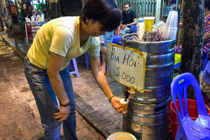 Bia Hoi: The Best Backpacker Beer in the World?