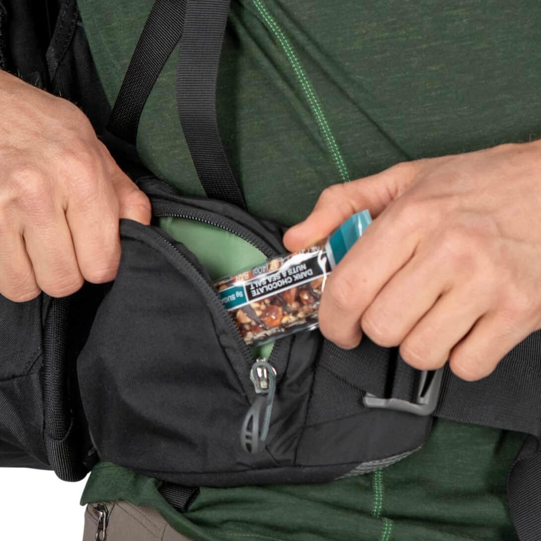 Osprey Farpoint Trek Hip Belt Pockets