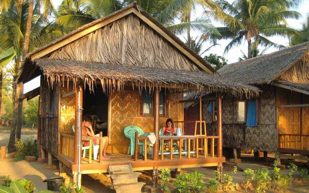 Ngwesaung beach hut