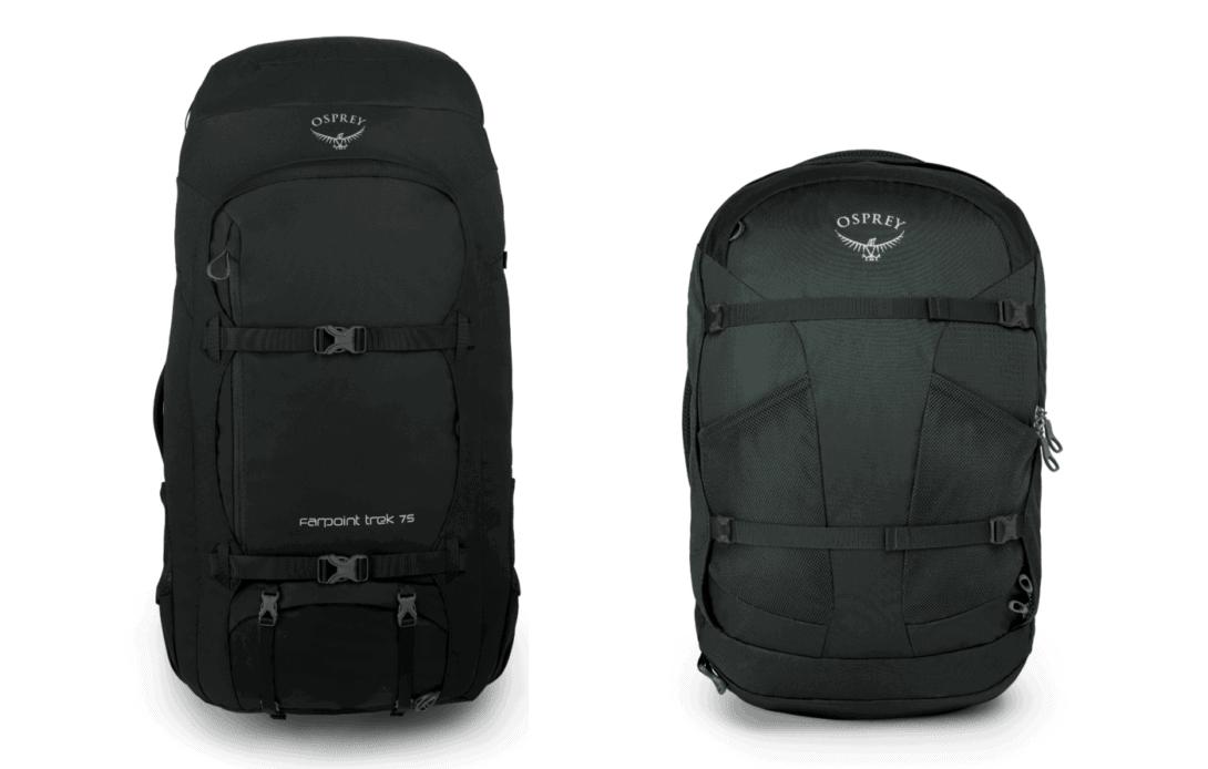 Osprey Farpoint vs Farpoint Trek