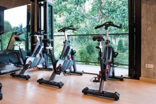 The equipment at KohFit Gym, Koh Samui.
