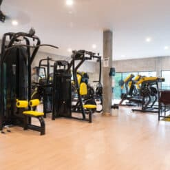 The gym at KohFit is well kitted out!