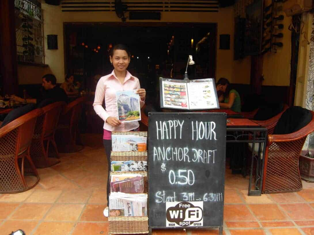 Happy Hour in Cambodia.