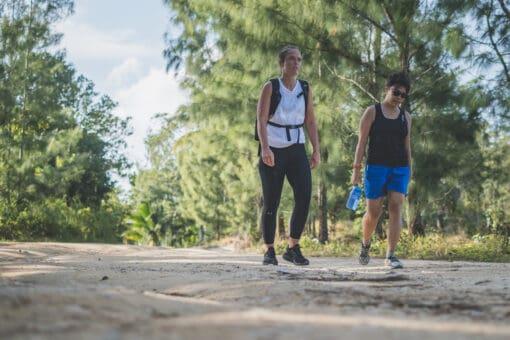 Exercising around Koh Samui Island with KohFit.
