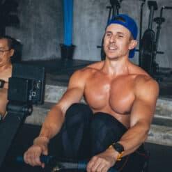 Building muscles at KohFit.