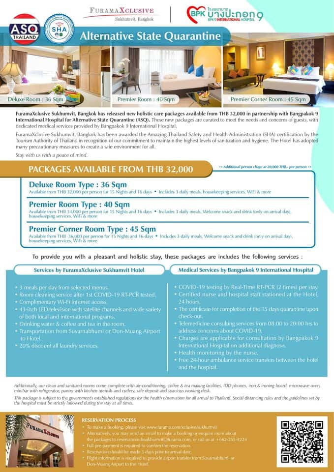 Furama Xclusive Sukhumvit Bangkok Hotel