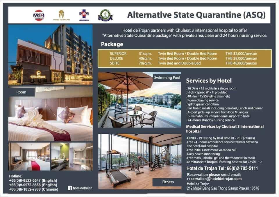 Hotel de Trojan ASQ Hotel