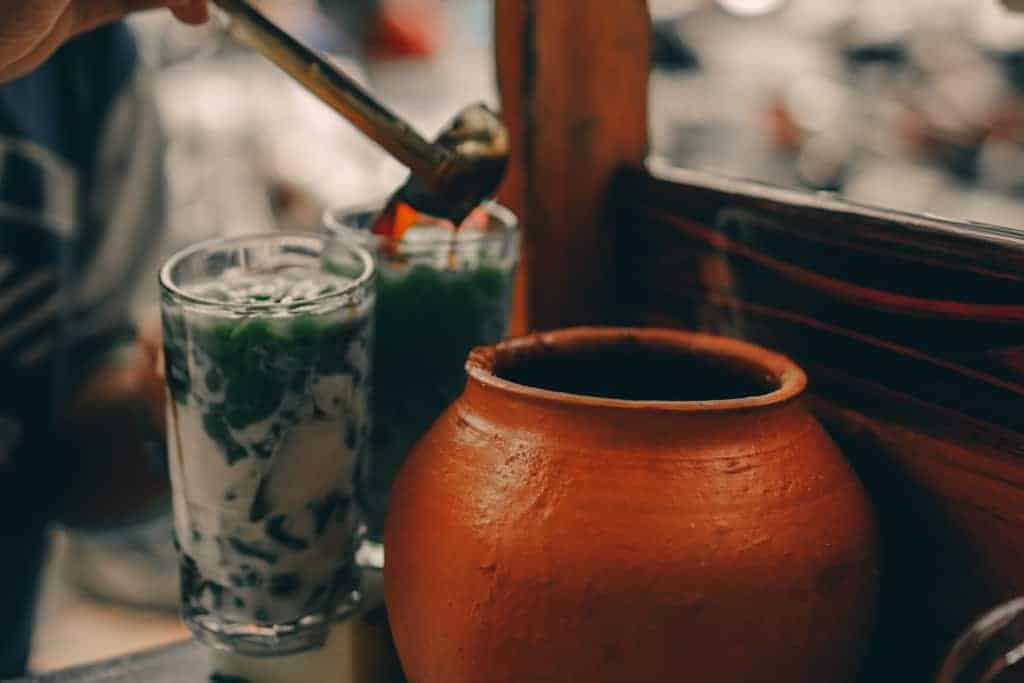 Cendol drink Indonesia