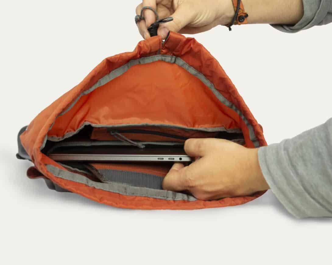 Salkan Daypack laptop storage