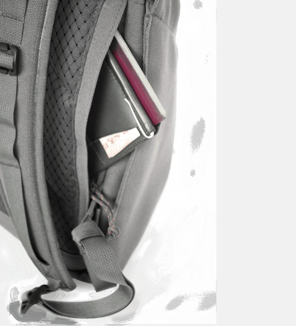 Salkan's Daypack security pocket