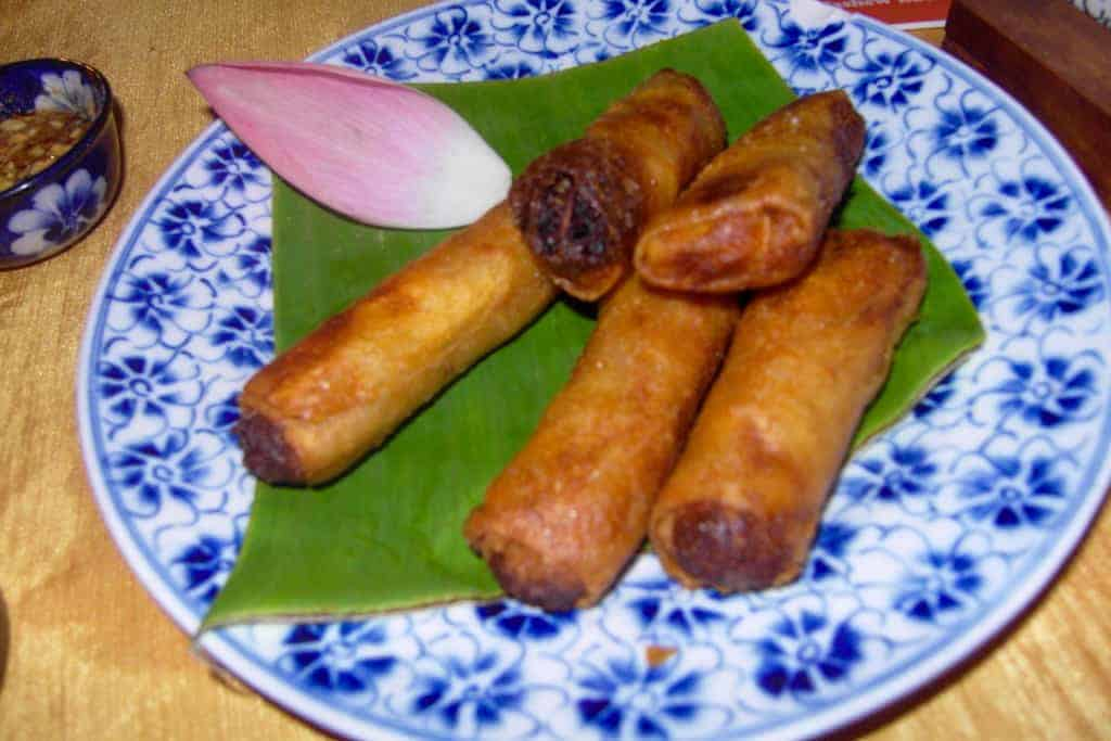 Cambodian spring rolls