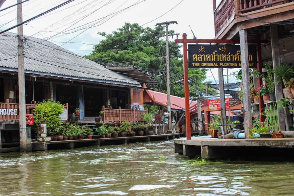 Bangkok floating market - Anand Vellingiri