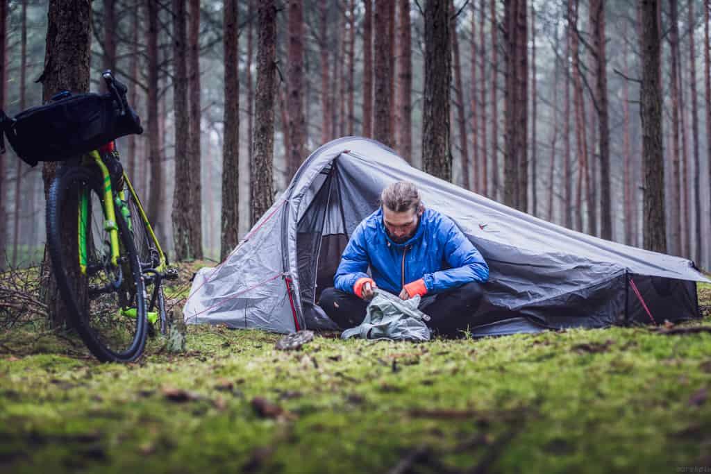 Bikepacking Camp