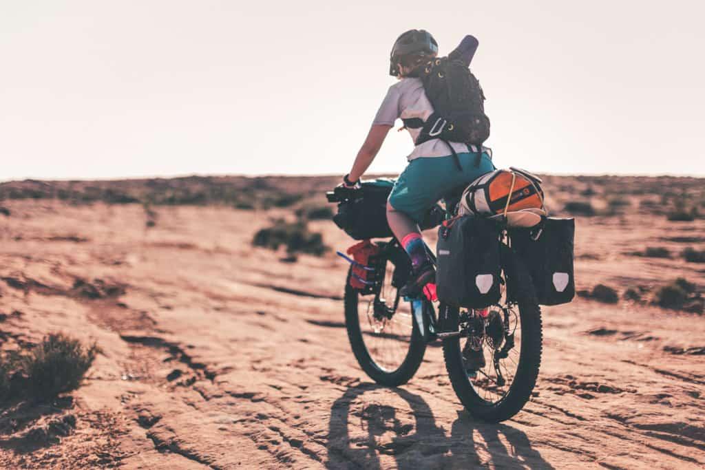 Bikepacking Desert