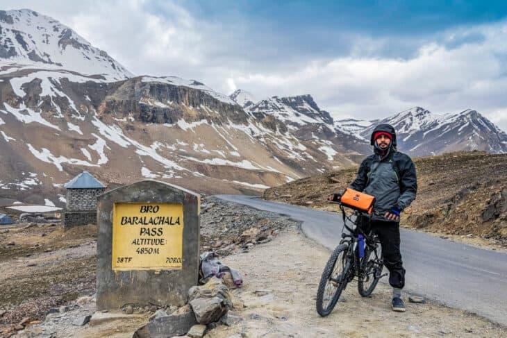 Bikepacking Mountain Pass