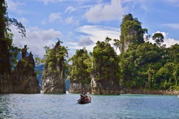 Khao Sok National Park Cheow Larn Lake